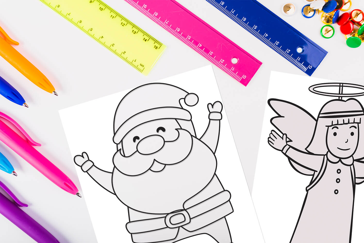 100 Free Coloring Pages For Christmas