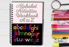 Alphabet Activities Worksheets A to Z