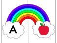 rainbow alphabet free printable