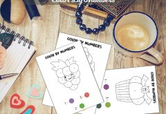 Color By Numbers for kids - 30 Pages