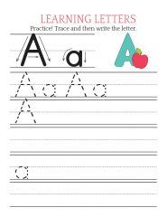 Letter A Printable